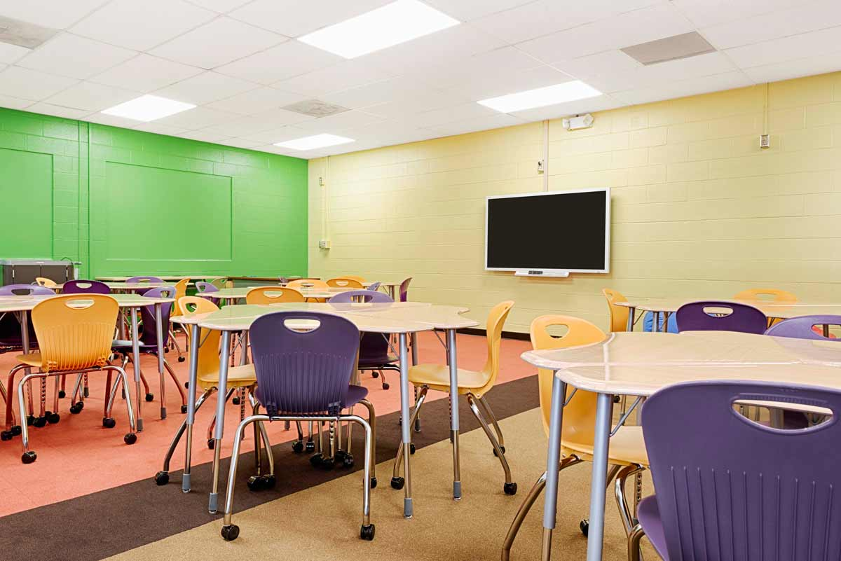 Innovative Math Classrooms ~ Virco school furniture classroom chairs student desks