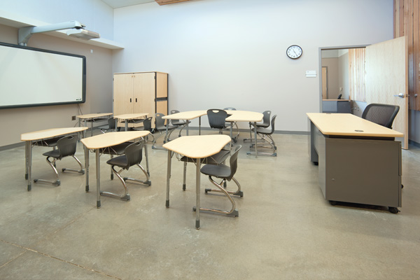 ... The Cafeteria Furnitureu0027s Wood Surfaces With The Fusion Maple Laminate  And Hard Plastic Surfaces Used On The Facilityu0027s Virco Classroom Furniture.
