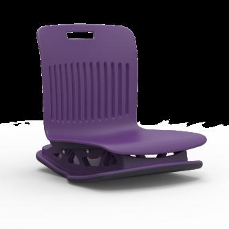 Analogy Series Floor Rocker with avsoft plastic seat bucket.