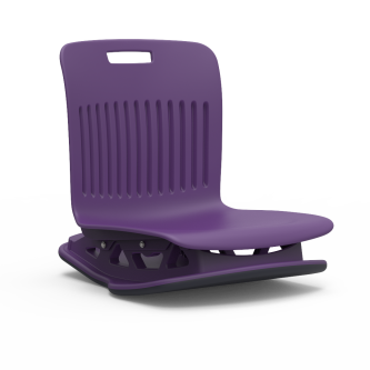 Analogy Series Floor Rocker with avsoft plastic seat bucket.