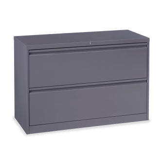 53 Series Lateral Filing Cabinet with Two Letter Sized Drawers