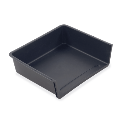 Plastic Book Box for use with Desks with Runners