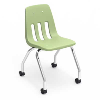 kelly green chair emerald green 9000 series 4leg mobile chair iconic original discover it classroom