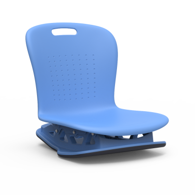 Sage Series Floor Rocker with a soft plastic seat bucket.