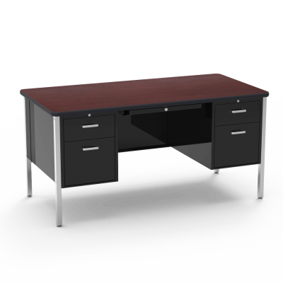 546 Series Double Pedestal Desk