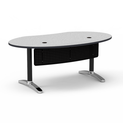 Plateau Ellipse Office Desk Beautifully Designed For Offices And Libraries  Discover It