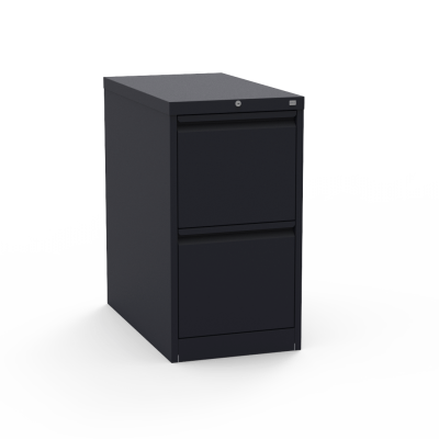 53 Series Steel Vertical Filing Cabinet with Two Letter Sized Drawers