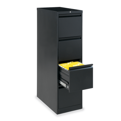 53 Series Vertical Filing Cabinet with Four Letter Sized Drawers