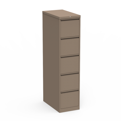 53 Series Steel Vertical Filing Cabinet with Five Letter Sized Drawers