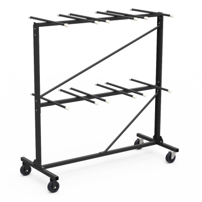 Chair Truck / Storage Cart for Steel Folding Chairs Rack Style Holds 84 Chairs