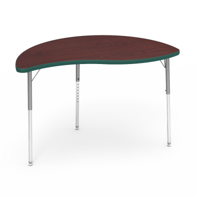 4000 Series Table with Nest Shape Top and Adjustable Steel Legs