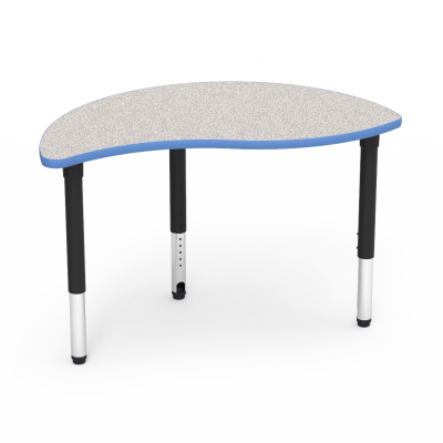 5000 Series Table with Nest Shape Top and Adjustable Steel Legs