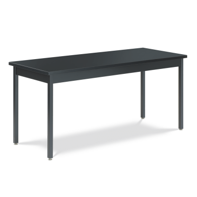 Science Table with Steel-Frame and Rectangle Epoxy Resin Top