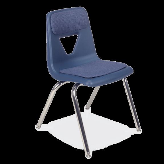 blue school chair. Zoom In Blue School Chair